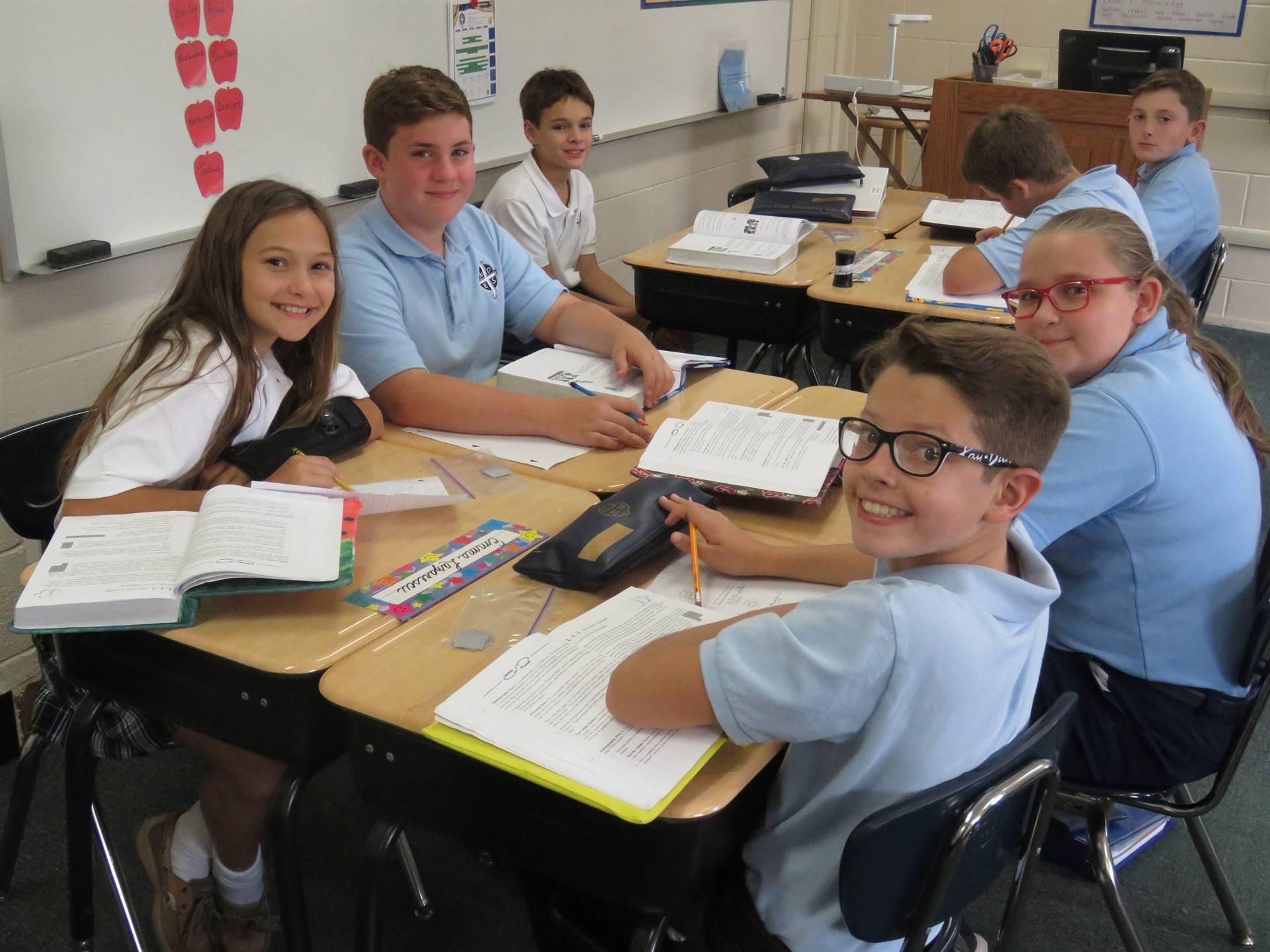 6 grade picture