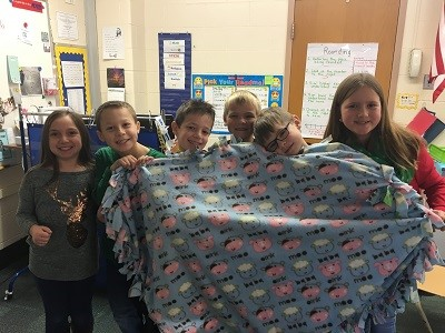 Creating Blankets for the Samuel Szabo Foundation