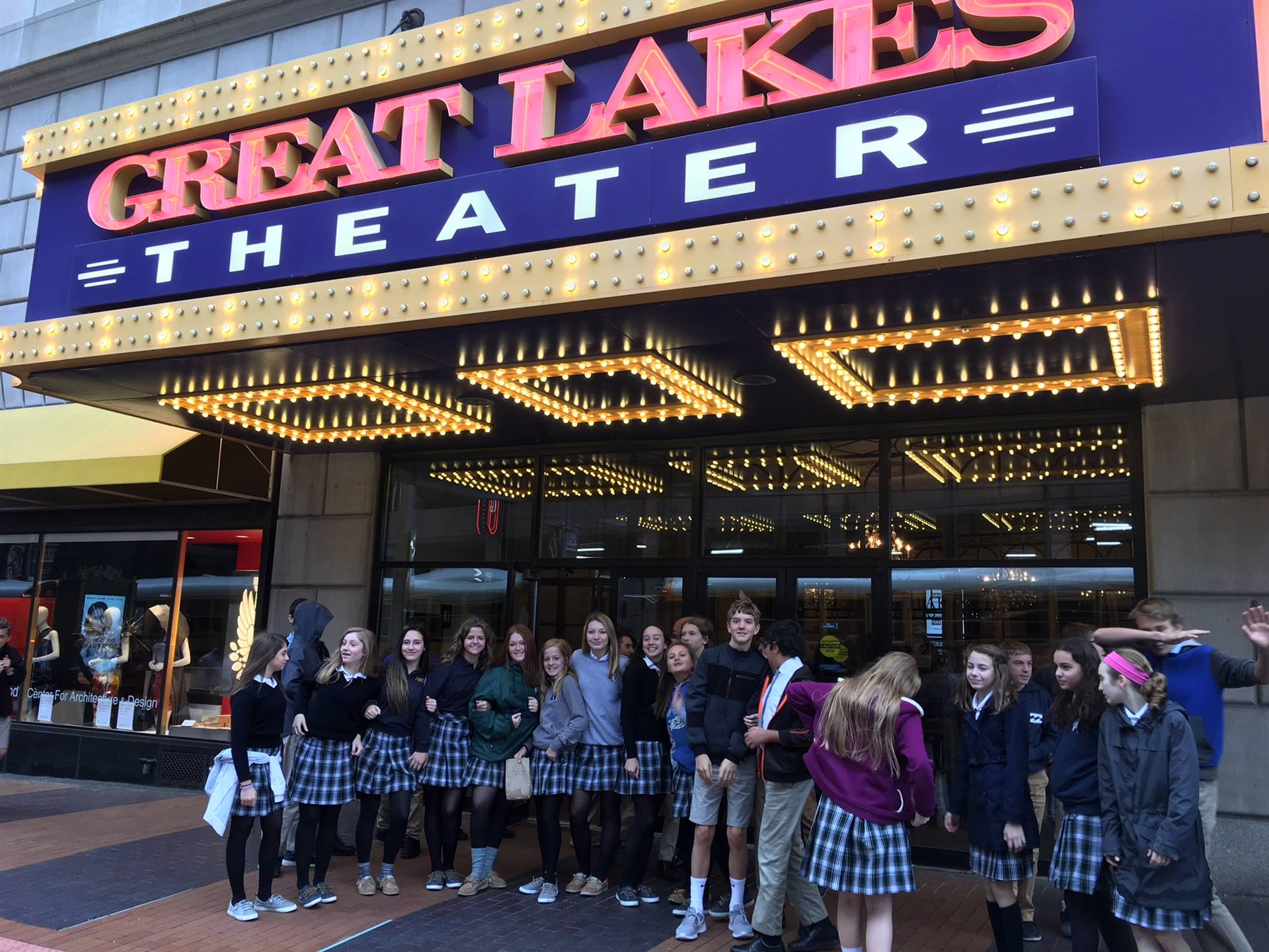 Jr. High at the Theatre