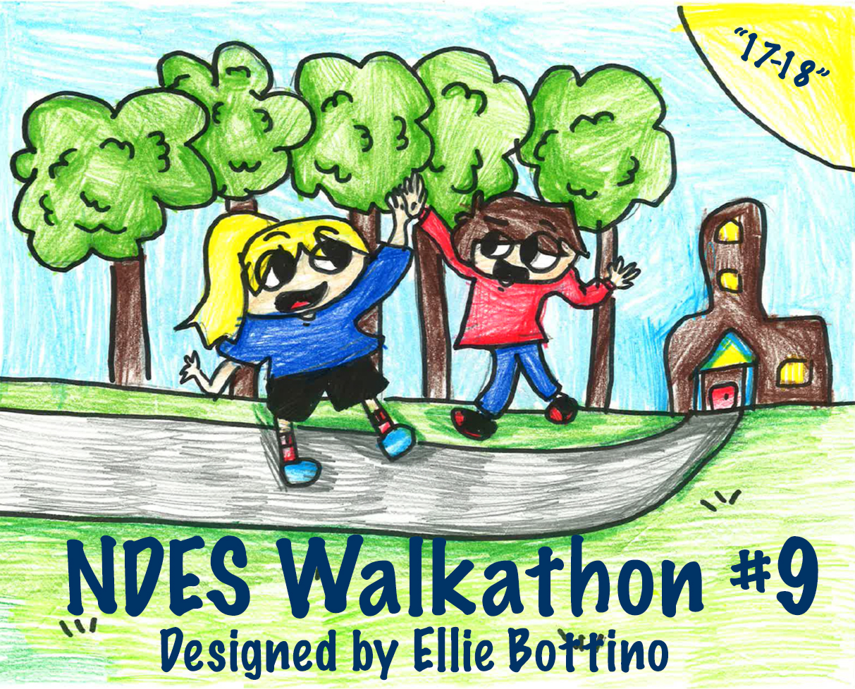 Walkathon #9 Logo