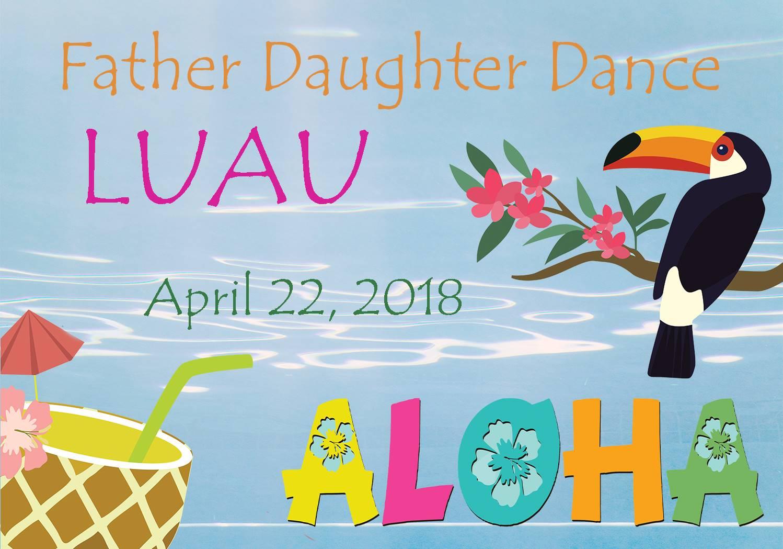 Father Daughter Dance Luau
