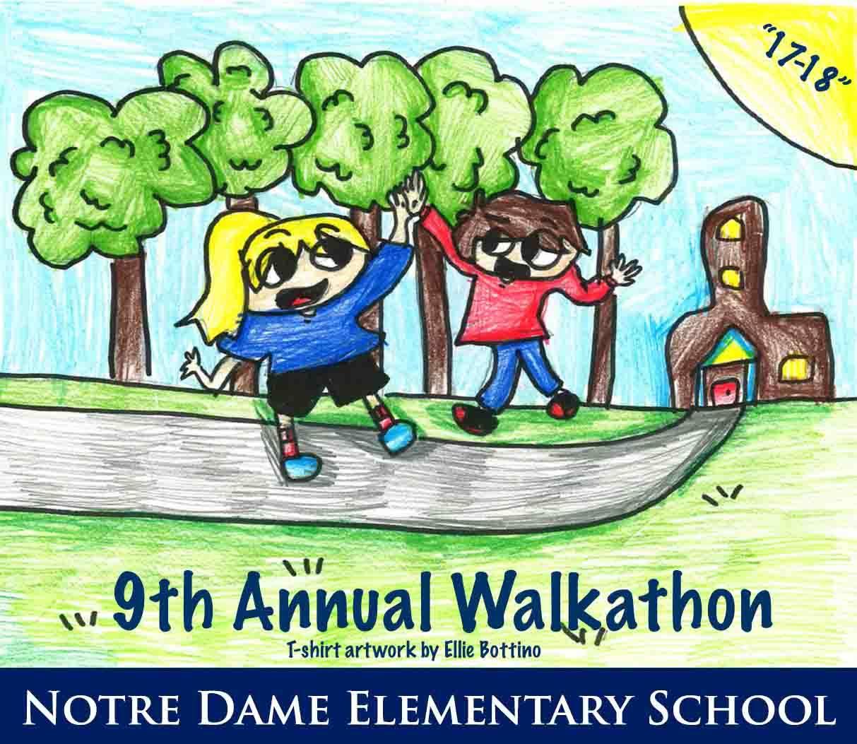 9th Annual Walkathon Logo