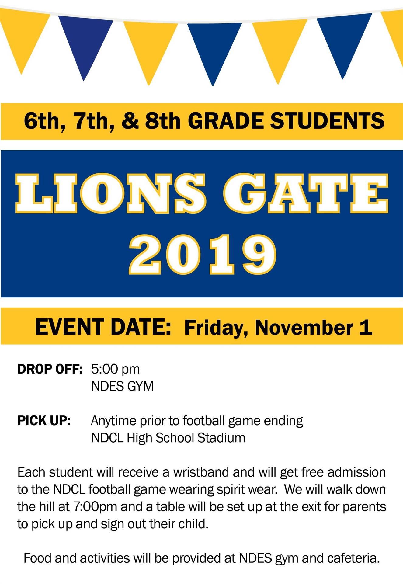 Lions Gate 2019